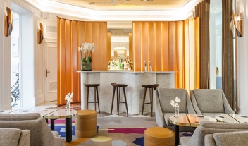 Hotel Vernet Bar Art Interior Design M 06 R