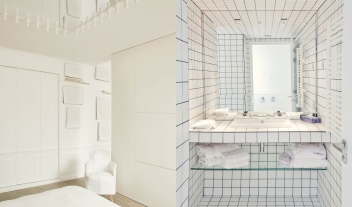 La Maison Champs Elysees Bedroom Bathroom Interior M 16 R