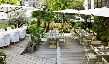 La Maison Champs Elysees Dining Terrace Summer M 05 R