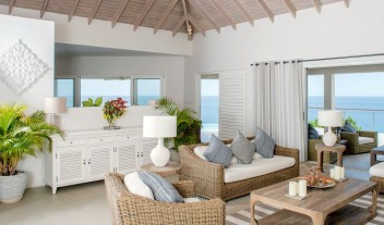 Laluna Living room in St George Grenada