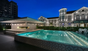 Macalister Mansion Pool Architecture M 03 R 1
