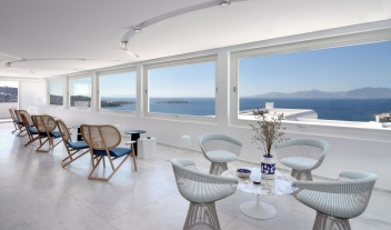 Myconian Kyma Chairs in Mykonos