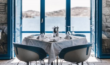 Mykonos Theoxenia Dining with a View in Mykonos