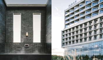 Nest Hotel Facade in Incheon