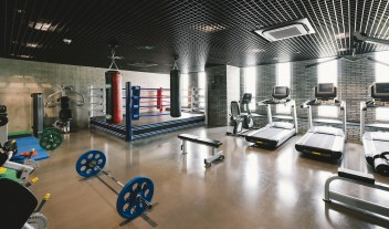 Nest Hotel Fitness Room in Incheon