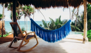 Papaya Playa Project Hammock in Tulum