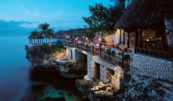 Rockhouse Hotel Night View on Jamaica