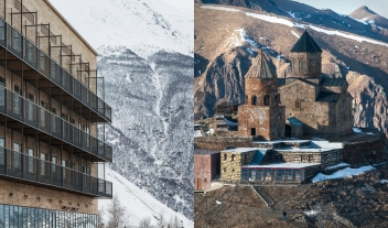 Rooms Hotel Kazbegi Castle in Stepantsminda