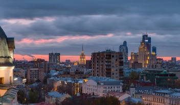 Standart Moscow Rooftop Terrace City View M 05 R