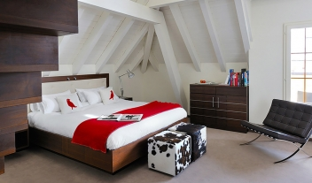 The Cambrian Bedroom Loft Interior Design M 11