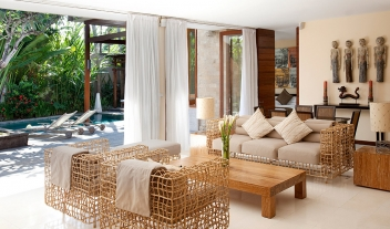The Elysian Boutique Villa Hotel Suite Living Room Interior Design Pool And Terrace View M 03 1