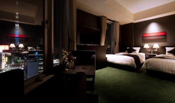 The Gate Hotel Kaminarimon View Twin Room M 06 R