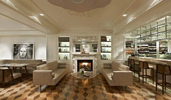 The House Hotel Bosphorus Bar Lounge Fireplace M 01 R 1