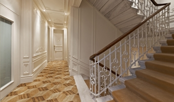 The House Hotel Bosphorus Staircase Corridor View M 11 R