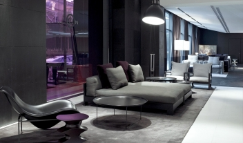 The Met Hotel Design Lobby in Thessaloniki
