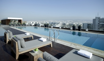 The Met Hotel Pool Rooftop View Thessaloniki M 17 R