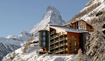 The Omnia Architecture Building Mountain Winter View M 05 R
