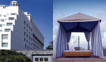 The Park Chennai Architecture Facade Rooftop Terrace Lounge Place M 09