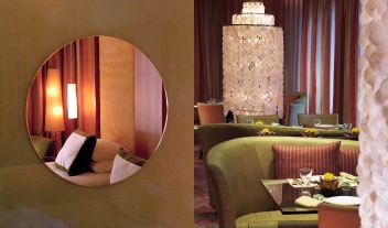 The Park Chennai Mirror Bed View Restaurant Interior Design M 07