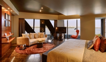 The Park Hyderabad Suite Bedroom Lake View M 16