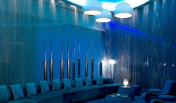 The Park New Delhi Lounge Blue Interior M 14