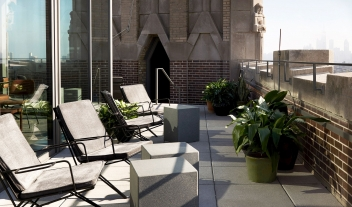 The Robey Terrace in Chicago