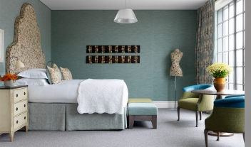 The Soho Hotel Guestroom Interior Design V01 M 18 R