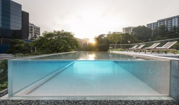 The Warehouse Hotel Pool in Singapore