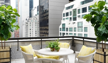 The Whitby Patio in New York City