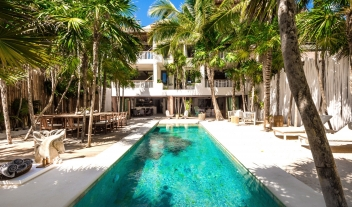 Villa la Semilla Pool in Tulum