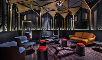 Vue Hotel Houhai Beijing Lounge in China