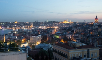 Witt Istanbul Rooftop Terrace City View By Night M 11 R