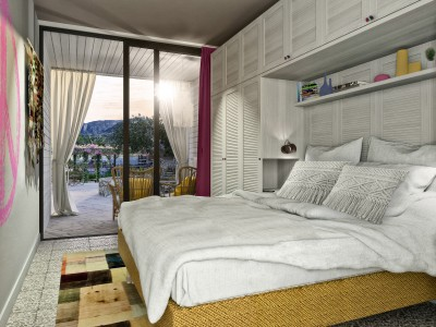 Poolside Room, Bikini Island and Mountain Port de Soller