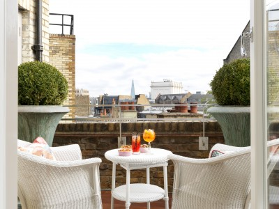 Covent Garden Hotel Terrace Suite in London