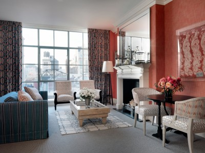 Crosby Street Hotel Luxury Suite in New York City