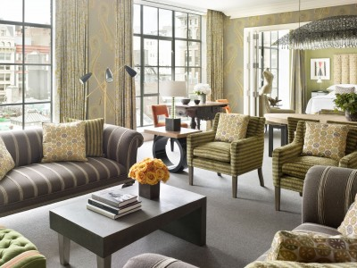 Crosby Street Hotel Interior Design in New York City