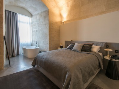 Cugo Gran Macina Grand Harbour Suite Interior in Senglea