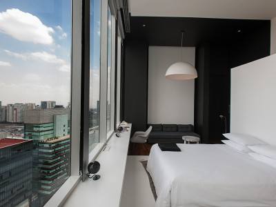 Distrito Capital Hotelroom in Mexico City