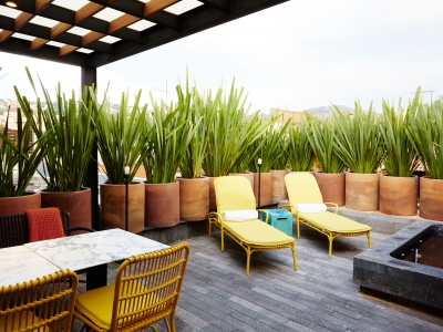 Dos Casas Hotel Spa Rooftop Suite Mountain View R 4