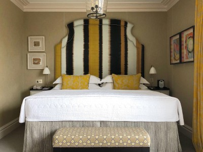 Ham Yard Hotel, Firmdale Hotels, Yellow Bed in London