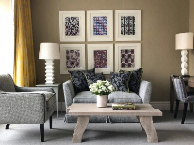 Ham Yard Hotel, Firmdale Hotels, Living Area in London