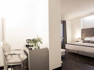 Hospes Madrid Deluxe Room R 3