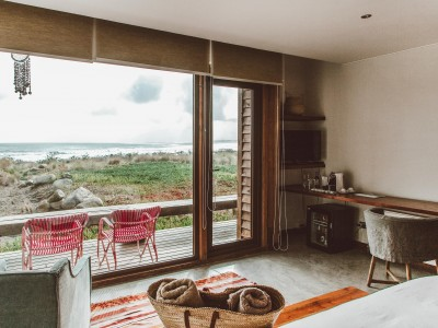 Hotel Alaia Bedroom Views in Pichilemu