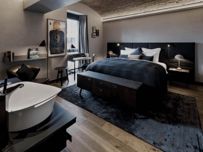 Hotel Liberty Room Design in Offenburg