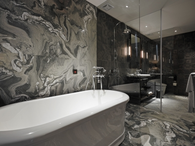 Hotel Proverbs Taipei Bathtub in Taiwan