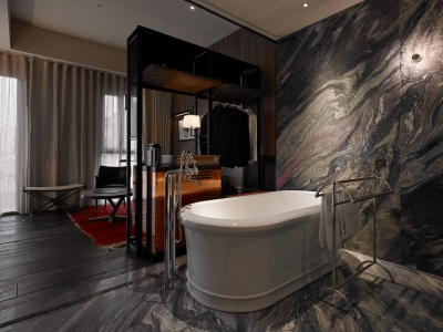 Hotel Proverbs Taipei Open Bath in Taiwan