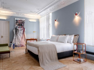 Hotel Richter Leopard Interior Design in Moscow