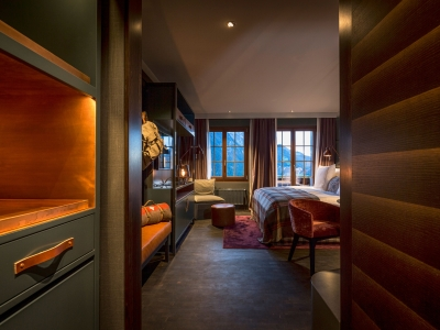 Huus Gstaad Double Room in Gstaad
