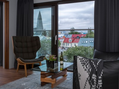 Ion City Hotel Suite Details in Reykjavik