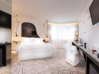La Maison Champs Elysees Guestroom Interior in Paris